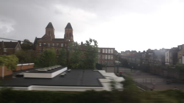 london from train window - dramatic landscape stock videos & royalty-free footage