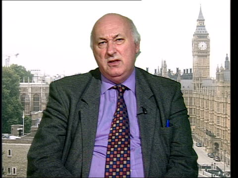 london gir ex westminster bruce george mp interviewed sot we visited unit were told in graphic detail exactly what happened he gave up his suit of... - suit of armour stock videos and b-roll footage