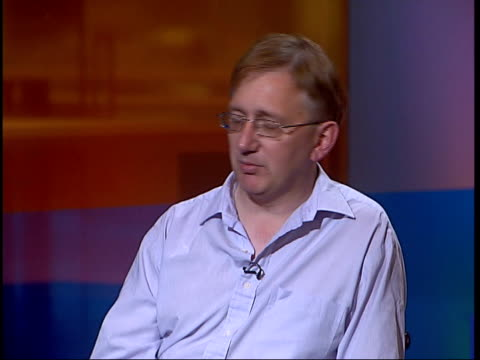 London GIR INT Craig Murray interview SOT no wasn't leaked by me/ I genuinely don't know who leaked it/ from personal point of view I'm not glad it...