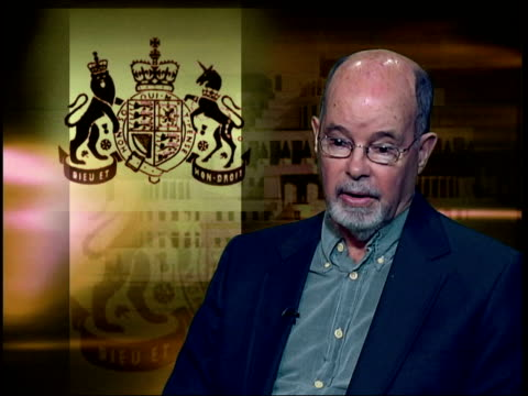 London GIR INT Philip Knightley interviewed SOT Dearlove is disillusioned with way Blair govt has politicised secret services putting spin on...