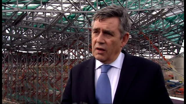 vidéos et rushes de gordon brown mp interview sot - these are the things we will discuss at the g20 but we are all determined that there is no going back to the old ways... - prime minister