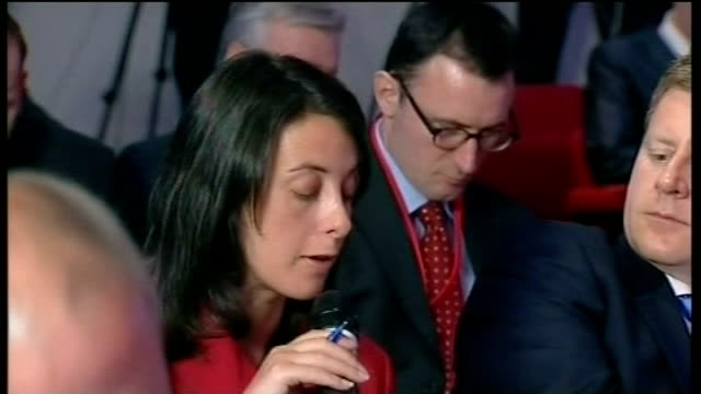 gordon brown mp next to harriet harman and lord mandelson at labour press conference sot gordon brown mp press conference sot - i didn't authorise... - doing a favour stock videos & royalty-free footage
