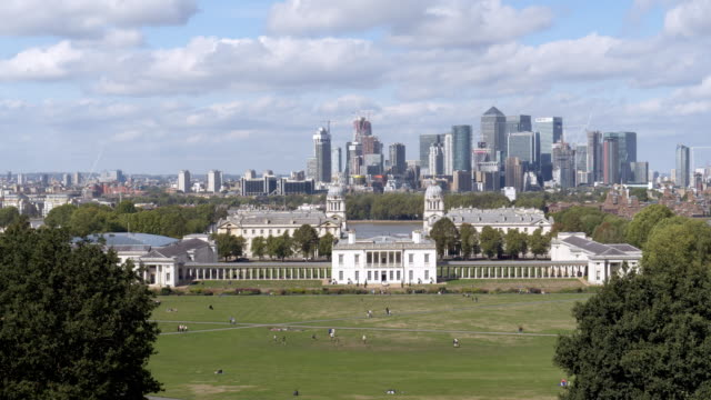 london greenwich and canary wharf - british military stock videos & royalty-free footage