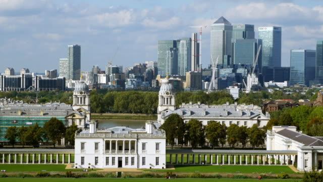 London Greenwich et Canary Wharf