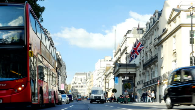 london haymarket and theaters to the north - union jack stock videos & royalty-free footage