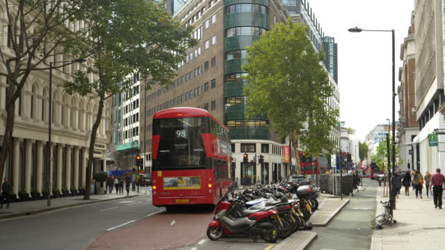 london high holborn street to the west - parking stock videos & royalty-free footage