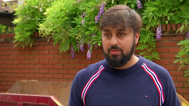 london hit by flash floods for second time in a fortnight; england: london: redbridge: clayhall: ext bilal munir interview sot iman bashir interview... - interview raw footage stock videos & royalty-free footage