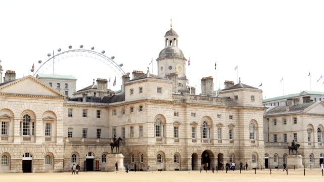 london horse guards building - royalty stock videos & royalty-free footage
