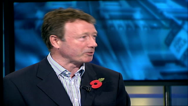 London house price rises outstrip the rest of the UK ENGLAND London GIR INT Philip Bullman LIVE STUDIO interview SOT