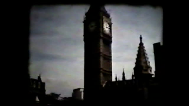 london in 70's, england - old fashioned stock videos & royalty-free footage