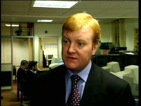london charles kennedy mp interviewed sot i think that they have to confirm that they remain fully committed to this process and that they are not... - charles kennedy stock videos & royalty-free footage