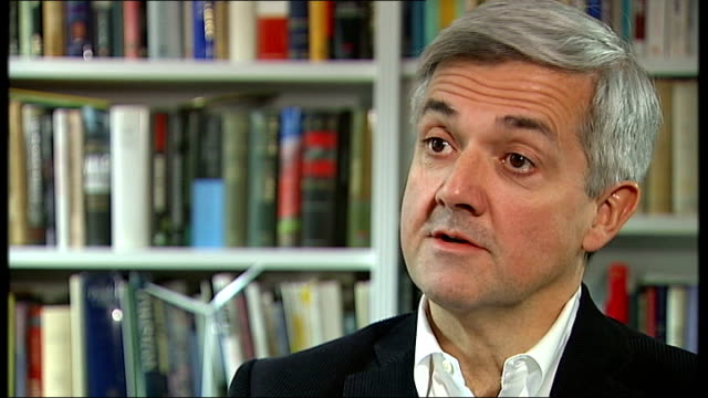 chris huhne interview sot - the most important message i wanted to get across was to say 'sorry' to my family, friends, colleagues and constituents/... - trivia stock videos & royalty-free footage