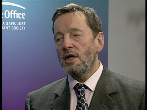 London David Blunkett MP interview on his resignation as Home Secretary SOT I believed that I should hold on because I knew I hadn't done anything...