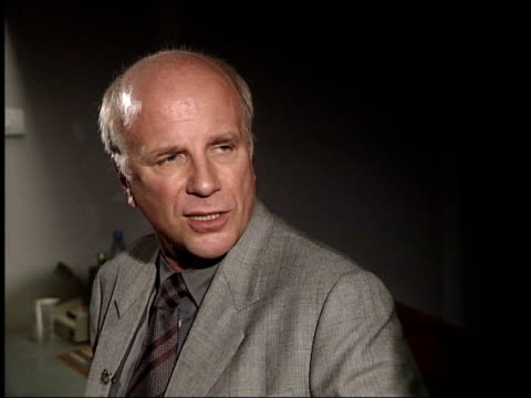 london int greg dyke interview sot want to spend more money on programming / old school tie not as prevalent as i thought it might be / can always... - greg dyke stock videos & royalty-free footage