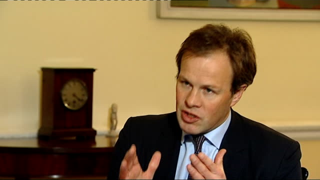 nick clegg mp interview sot - i'll say again and i genuinely mean this, of course i regret, politics just as much as in life, you say you want to do... - politics and government stock videos & royalty-free footage