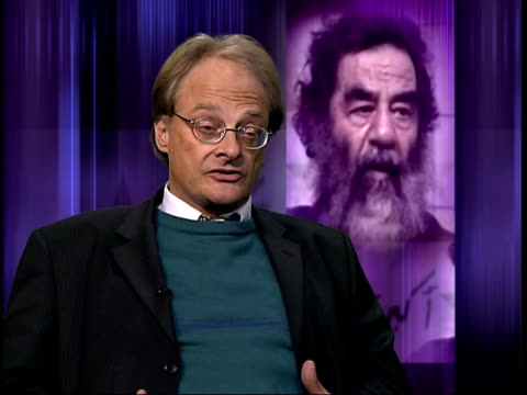 London Patrick Cockburn interviewed SOT Created the conditions in which Saddam Hussein thought right I'll do to Kuwait what I was previously doing to...