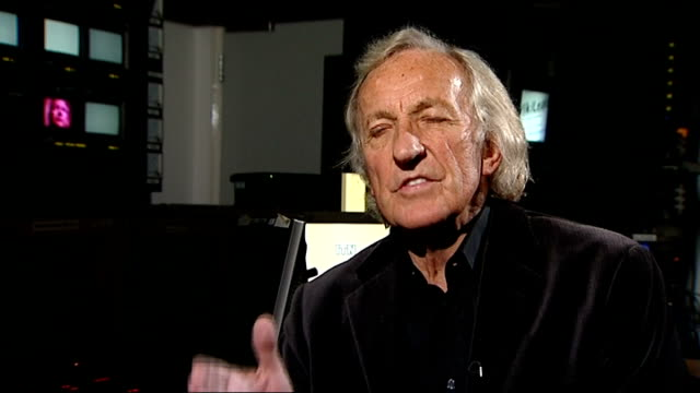 reporter q: is it in public interest that documents and communications stolen are then put out in a splurge john pilger interview sot - don't think... - john pilger stock videos & royalty-free footage