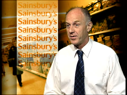london int richard perks interview sot bad things happen when you get accountants running businesses/ look at marks and spencer - richard sainsbury stock videos & royalty-free footage