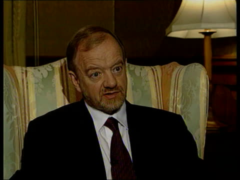 London Robin Cook MP interview SOT He was key player in conflicts around the world had great success