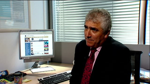 stephen alambritis interview sot - this kind of media publicity produces doubts about whether to do business with uk plc - plc stock videos & royalty-free footage