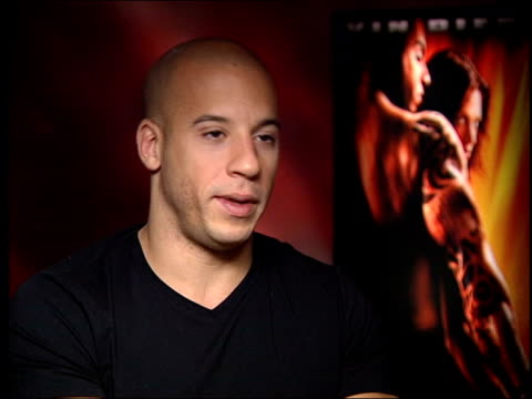 london vin diesel interview sot talks about the sheer frustration after september 11 / xxx represents that frustration shows that the least of us can... - vin diesel stock videos and b-roll footage