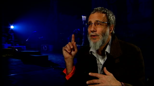 London INT Yusuf Islam interview SOT
