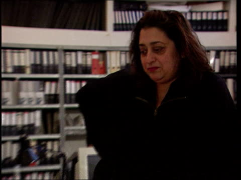 London Zaha Hadid standing in office PULL OUT