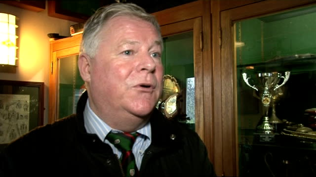 London Irish rugby club taken over Surrey Sunbury INT Crossan interview SOT Talks of being commited to playing at the Madejski Stadium Press...