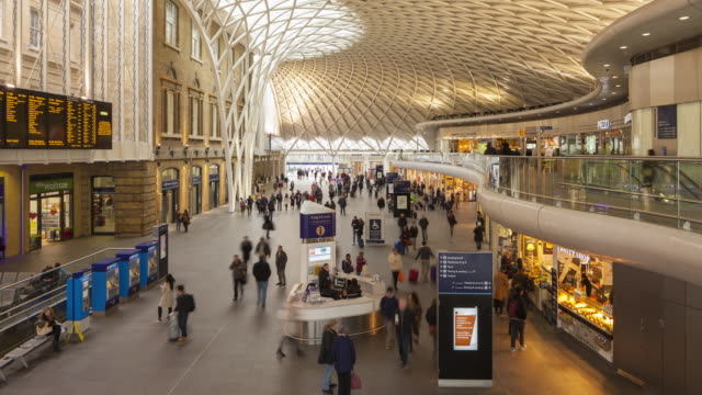 London King's Cross railway station.