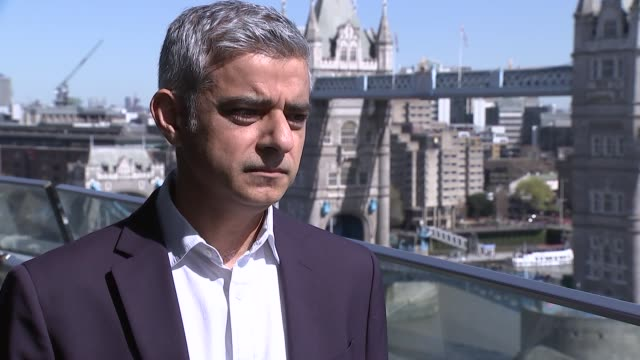 sadiq khan interview england london city hall ext sadiq khan interview sot - sadiq khan stock videos & royalty-free footage