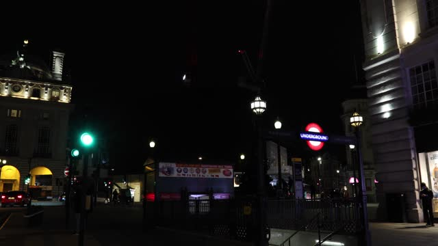 london landmark piccadilly circus advertising lights submerged into darkness for the earth hour environmental campaign in london, england on march... - annual event stock videos & royalty-free footage