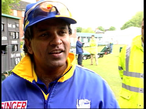 London Lords Arjuna Ranatunga interview SOT Sorry we are not supposed to talk about this