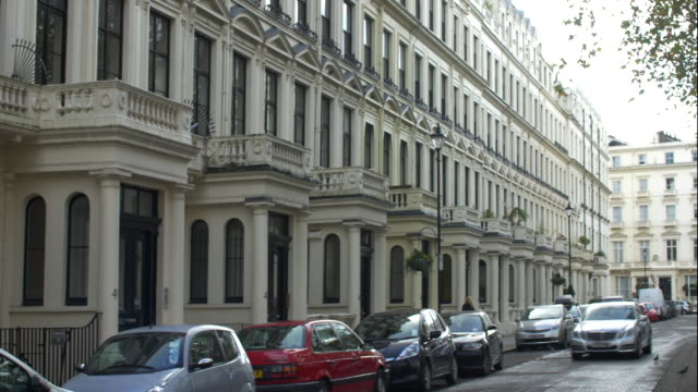 london luxury property in bayswater - kensington und chelsea stock-videos und b-roll-filmmaterial