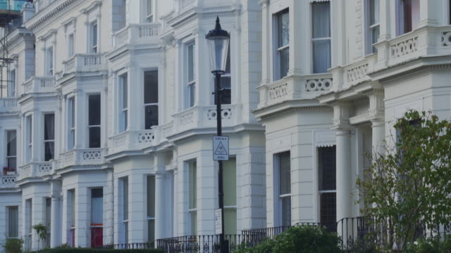 london luxury property in notting hill - kensington und chelsea stock-videos und b-roll-filmmaterial