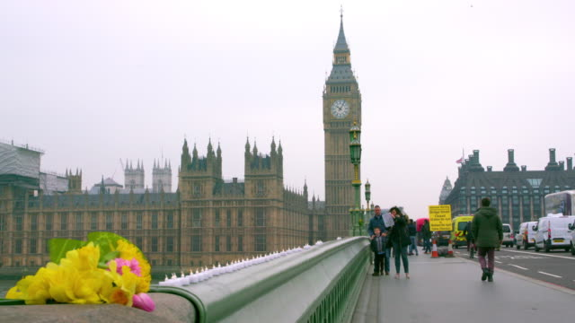 london march friday - westminster bridge stock videos and b-roll footage