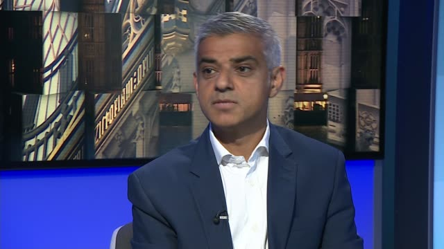 london mayor sadiq khan says he has no confidence in new leader of kensington and chelsea council sadiq khan interview sot she should never have... - humility stock videos and b-roll footage