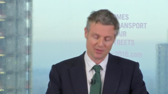 zac goldsmith launches action plan england south london croydon int board 'zac goldsmith my action plan for greater london' / zac goldsmith mp... - greater london stock videos and b-roll footage