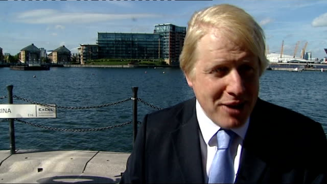london mayoral election 2012: campaigning continues; england: london: int boris johnson shaking hands, distributing election leaflets at hairdressers... - hugo boss stock videos & royalty-free footage