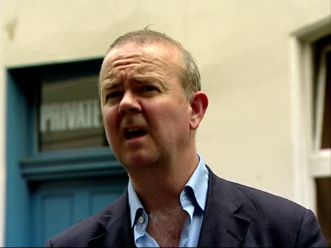 london mayoral elections: boris johnson to stand; ian hislop interview sot - for years conservatives have been saying 'ken livingstone, he's a joke... - ian hislop stock videos & royalty-free footage