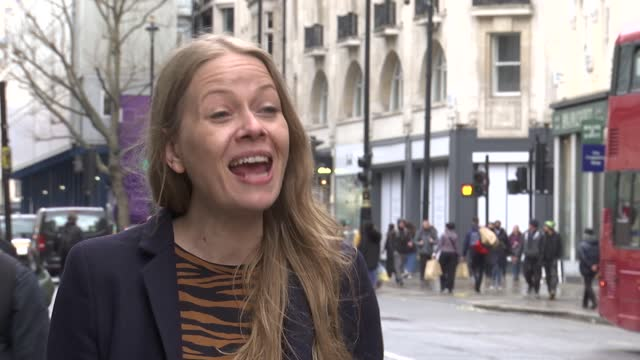 london mayoral elections: sian berry interview; england: london: ext sian berry interview continued sot - re 2021 london mayoral elections campaign -... - politics video stock e b–roll