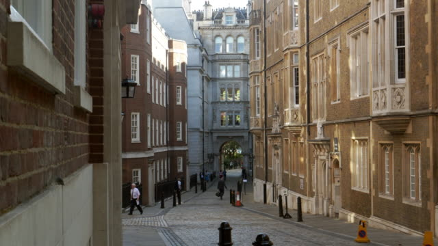 london middle temple lane - english culture stock videos & royalty-free footage