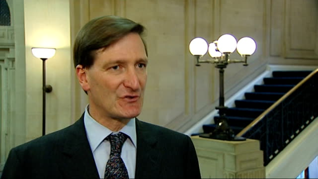 london millbank int dominic grieve mp interview sot if public are to have confidence in recall system it ought to be working at high percentage level... - dominic grieve stock videos and b-roll footage