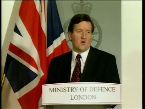 London Ministry of Defence George Robertson MP interviewed SOT This is little more than nauseating hypocrisy coming as it does from a group of...