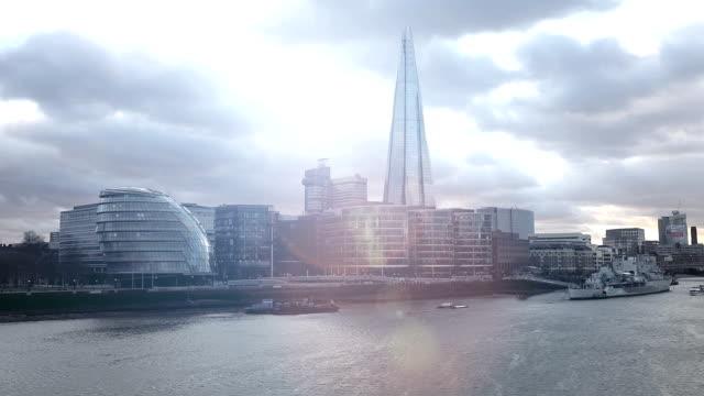 London modern cityscape and office buildings skyline