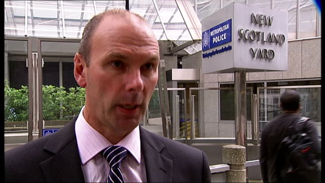 london museums increase security after theft of rhino horns; london: new scotland yard: det con ian lawson interview sot - saying organised gang from... - museum stock videos & royalty-free footage