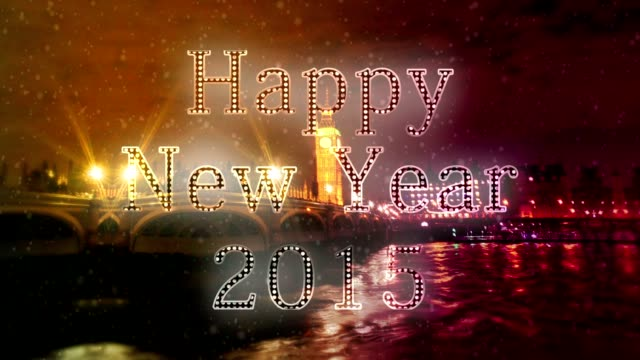 london new year xmas - funny merry christmas greetings stock videos & royalty-free footage