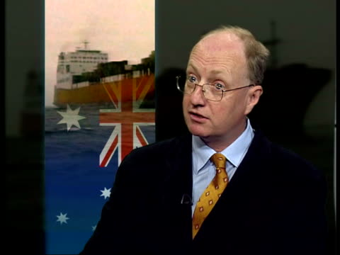 london nick blake qc interview sot situation is deteriorating/ if people are suffering now as result of act of australian govt they are responsible... - law stock videos & royalty-free footage