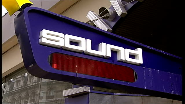 London nightclub 'Sound' has licence revoked following assaults ITN London Leicester Square EXT GVs Entrance to 'Sound' nightclub