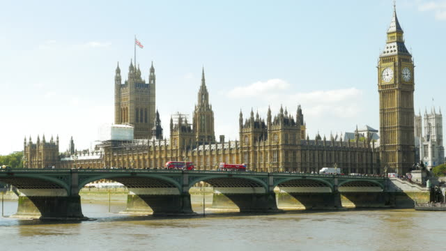 London Palace Of Westminster At Midday (UHD)