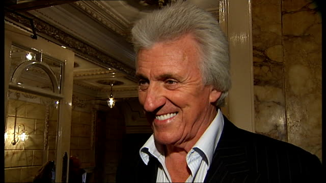london palladium celebrates 100th birthday: celebrity interviews; bruce welch interview sot - first played here in 1959 and played here for six... - nicholas parsons stock videos & royalty-free footage